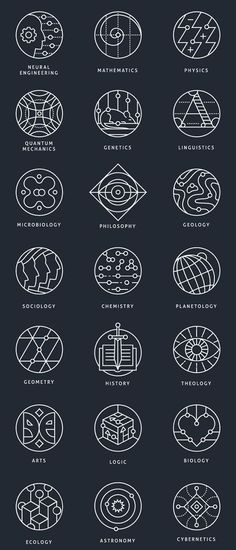 coolTop Geometric Tattoo - Collection of conceptual marks, representing different scientific areas. tattoo designs Geometric Tattoo – Collection of conceptual marks, representing different scientific areas. Simbolos Tattoo, Tattoo Now, Tiny Tattoo, Body Art Tattoos, Small Tattoos, Tattoo Drawings, Tattoo Flash, Glyph Tattoo, Shape Tattoo