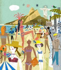 Lindgren & Smith | Martin Haake Vacation destination Rio de Janeiro, Brazil #beach #vacation