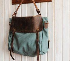 Ledertaschen - Retro Leder Tasche, Mode Tasche, Tasche Charme F8 - ein Designerstück von uniquesoka bei DaWanda