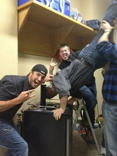 Luke Bryan with friends :)