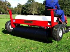 Roller attachment for 48 inch grass care system. Grass and lawn care systems  for maintaining your garden. Our lawn care systems have lawn rollers, sorrel rollers, aerators, de-thatchers for a healthy lawn. For more info: http://www.fresh-group.com/grass-care-system-48.html