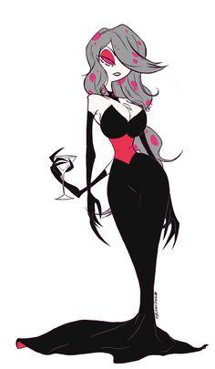 Character Design Tutorial, Fantasy Character Design, Character Design Inspiration, Character Art, Art Ideas For Teens, Hazbin Hotel Angel Dust, 4 Wallpaper, Vivziepop Hazbin Hotel, Demon Girl