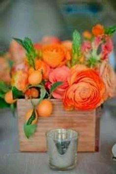 Vibrant Beautifully Blended Centerpiece !