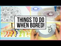 Oddly Satisfying Things To Do When You Are Bored At Home!   What To Do When Bored!   Part 2 - YouTube
