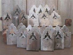 Lot Wooden Architectural Salvage Trim Fretwork Corbels Porch Post Vintage FRSHIP