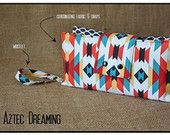 """""""Aztec Dreaming"""" Nappy Clutch A$28.00 plus postage  (Nappy Clutch / Diaper Clutch / Nappy Wallet / Diaper Wallet)"""