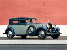 1932 Rolls-Royce Phantom II Continental Sports Saloon by Hooper