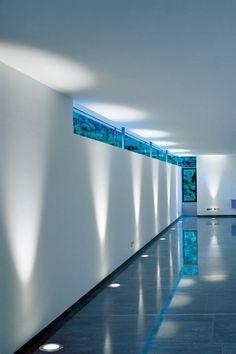 Led Fliesen Indirekte Beleuchtung Integriert Fussboden Spots Reflektierend