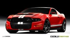 2013 mustang concept car!!