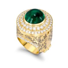 The Look: Oz - Theo Fennel Emerald City Ring