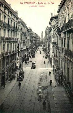 c/ la Pau #Valencia #Modernisme principios s. XX