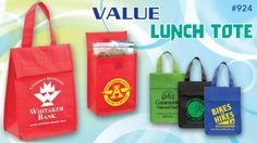 Value at less than $1.00  Priced Lightweight Lunch Tote