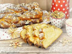 Babiččina vánočka Czech Recipes, Polish Recipes, Polish Food, Xmas Cookies, Christmas Sweets, Pavlova, Camembert Cheese, French Toast, Food And Drink
