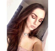 """Polubienia: 153, komentarze: 9 – K.Bakuss Baczynska (@bakusbaczynska) na Instagramie: """"#rosegold #makeup #today #bakustyle #me #photo #art #jewellery #like #palette #naked2 #makeupbyme"""""""