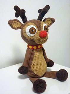 Reindeer Andy pattern by SKatieDes