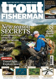 Issue 508 on sale March 2018 Sea Angling, Fishing Magazines, Types Of Fish, Carp Fishing, Travel Light, Fly Tying, Trout, Latest Issue, Digital