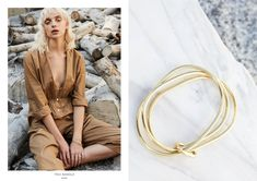 VISTA takes us back to the solitude of long summer holidays where the simplicity of daily life discovering wide open spaces paves the way for the nostalgic deta Collections Photography, Open Spaces, Solitude, Hair Makeup, Campaign, Mary, Bangles, Jewels, Holidays