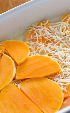 You all have to try this butternut squash au gratin dish! It's delicious!
