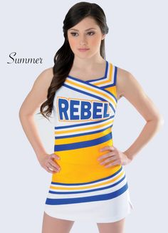 Rebel Athletic School Division. Cheerleading Uniform by Rebel Athletic