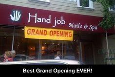 Hand Job Marketing!