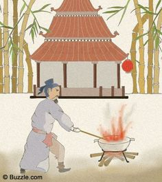 The story of how fireworks were invented in Ancient China.