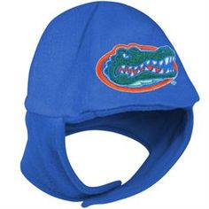 Florida Gators Infant Chin Strap Fleece Beanie - Royal Blue