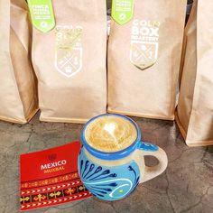 Not that's a perfect pairing  Single origin Mexican coffee from @goldboxdubai @lataqueria_dxb