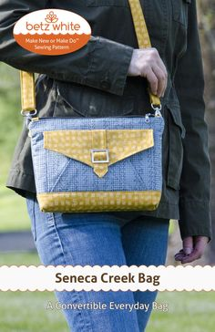Seneca Creek Bag PDF Pattern