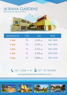Starting prices for January in Raha Garden Abu-Dhabi !  #AbuDhabi #startingprices #LovePsi