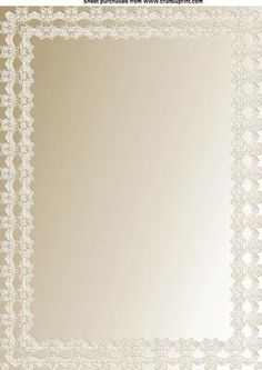 cream double lace on Craftsuprint designed by Cynthia Berridge - cream double lace paper - Now available for download!