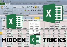 BEST hidden excel secrets