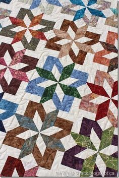 bali sea star quilt pattern jelly - Google Search