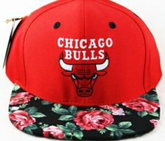 Agora Sports Snapbacks | Chicago Bulls Roses