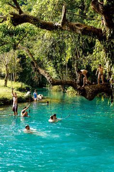blue lagoon laos