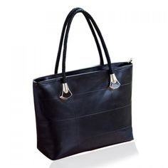 Pretty Women's Shoulder Bag With PU Leather and Metallic Design