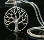 925 Sterling Silver Tree of Life Necklace Pendant 28mm with bonus snake chain .. www.TreeOfLifeJewellery.com ... #treeoflifejewelry #treeoflife #treeoflifenecklace #treeoflifependant #celticjewelry
