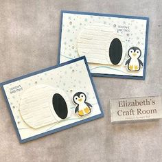 Penguin Place Sampler and card