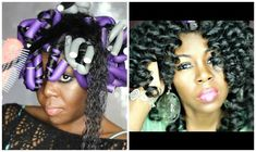 This post has a quick tip for flexi rods. Use multiple rods for elongated curls Video inside! Natural Hair Care Tips, Natural Hair Styles, Diy Hairstyles, Pretty Hairstyles, Curly Hair Tutorial, Hair Addiction, Hair Icon, Bouncy Curls, Natural Hair Inspiration
