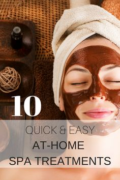 Dermera natural skin care products beauty tip: 10 quick and inexpensive at home spa treatments can help you to achieve great results with simple and natural ingredients that you can easily find in your kitchen or at the nearby grocery stores.