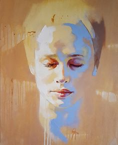 Selected Artworks by artist Solly Smook. Potrait Painting, Acrylic Portrait Painting, Abstract Portrait, Portrait Art, Painting & Drawing, Art Graphique, People Art, Figure Painting, Face Art