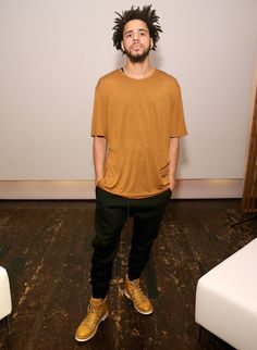 """J. Cole Wears Bally Hiker Boots at """"Off the Grid"""" Short Film New York Premiere   UpscaleHype"""
