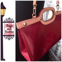 Arriving Soon: LOUIS VUITTON Vernis Mono Roxbury Details Pending. Louis Vuitton Bags Shoulder Bags
