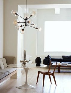 There are so many versions of this light fixture and I love them all...