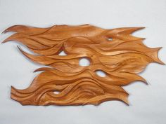 """Confluence : This wall sculpture was my first attempt at creating a three dimensional piece of art depicting my instinctive design pattern.Confluence 
