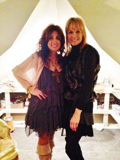 a beautiful friend/loyal customer @ The VIP Sarabella James Holiday Trunk Show