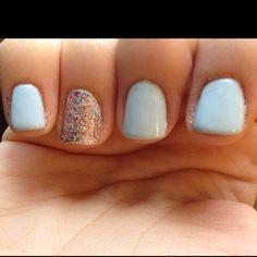 My friends cute nails