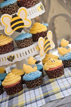 Birds (ducks) and bees baby shower!