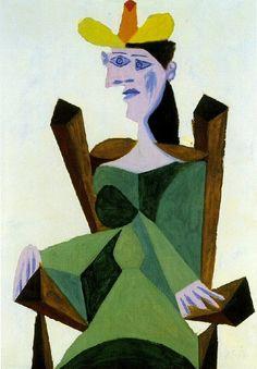 Pablo Picasso, 1939 Femme assise sur une chaise