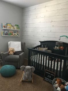 Updating Our Walls With Shiplap Wallpaper + Awesome DIY
