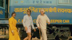 "Peter (Adrien Brody): ""He said the train is lost."" Jack (Jason Schwartzman): ""How can a train be lost? It's on rails."" -- The Darjeeling Limited Genre(s) - adventure, comedy, drama. Wes Anderson Hotel, Wes Anderson Movies, Color In Film, Satyajit Ray, The Royal Tenenbaums, Movie Teaser, Film Inspiration, Film Stills, Film Movie"